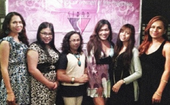Members of STRAP, the Philippines's first trans* group, working in collaboration with local universities