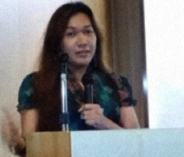 Dr. Brenda Alegre, lecturer of sexuality and gender at the University of Hong Kong (Photo courtesy of Dr. Brenda Alegre)