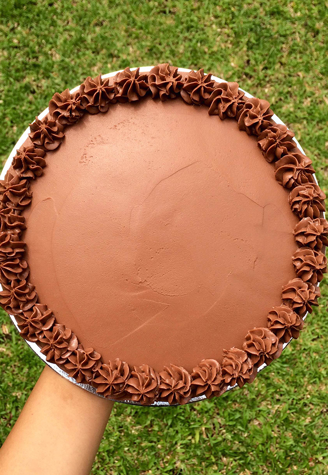 Kitchen Revolution's chocolate cake