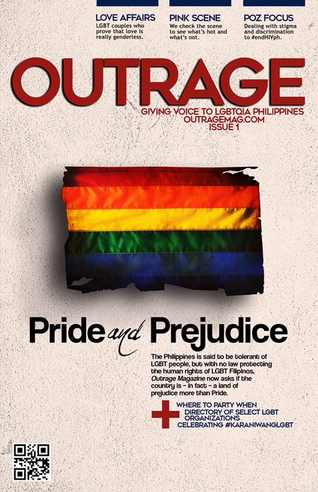 OutrageMag Issue 1