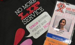 Trans lip service