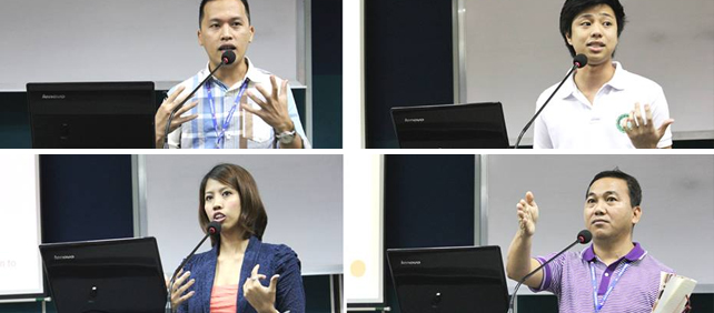 Presenters at this year's national conference of the Psychological Association of the Philippines.