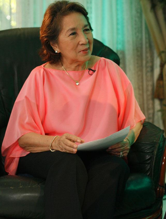 BAHAGHARI MEDIA AWARDS - Winnie Monsod
