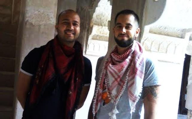 Nico and Ajeet