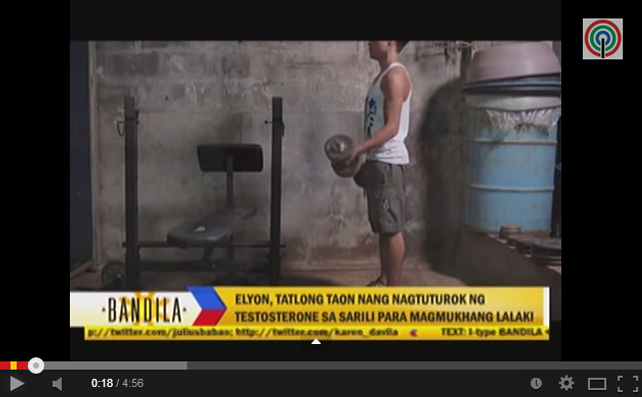 Screenshot from YouTube of Bandila's interview with select members of PinoyFTM