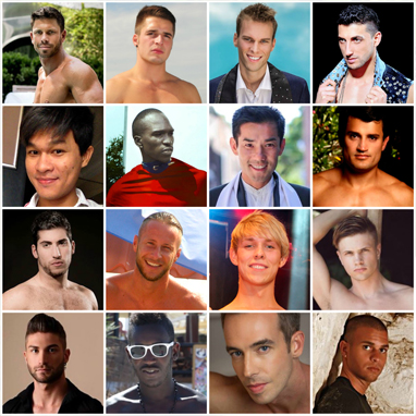 The contestants from Australia, Austria, Belgium, Bulgaria, Cambodia, Cameroon, Canada, Costa Rica, Cyprus, Czech Republic, Denmark, Finland, France, Germany, Hong Kong and Iceland. ALL IMAGES COURTESY OF MR. GAY WORLD