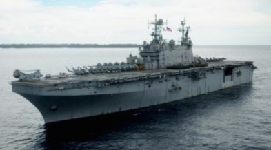 US Navy's USS Peleliu. Photo from the US Embassy in Manila