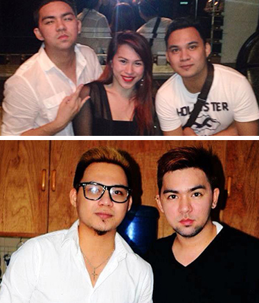 Gil was introduced to Khing on March 14, 2014 by a common friend, Angel (TOP PHOTO). The two shared a dance that night; and the dance led to a loving relationship.