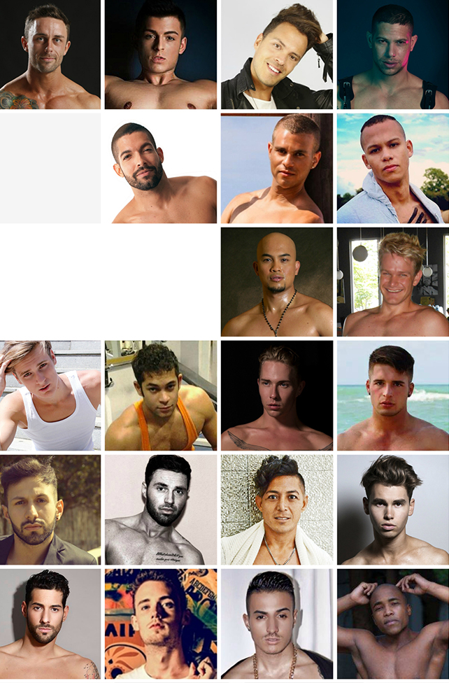 Mr. Gay World 2015 candidates (ALL IMAGES COURTESY OF THE CANDIDATES)