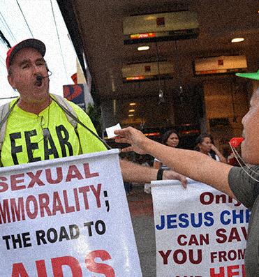 In the Philippines, intolerance continues to be promoted by many religions.