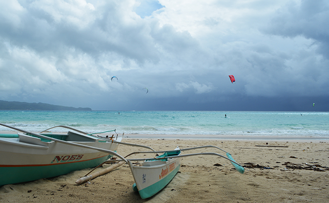 Boracay in the rain5