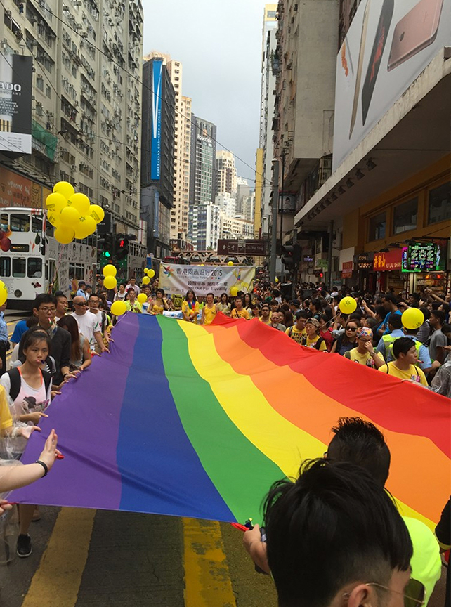 """Hong Kong celebrated Pride with a parade themed """"Yell Out for Equality"""" on 7 November 2015 (PHOTOS BY JEFFERSON MENDOZA)"""