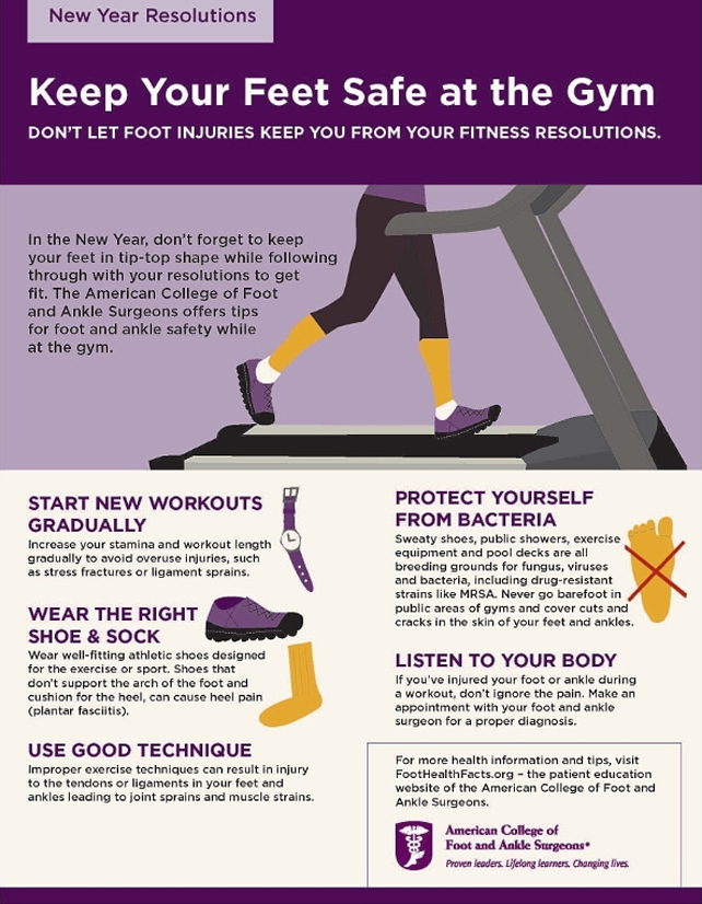 Keep your feet fit